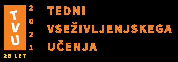 Tedni vseživljenjskega učenja 2021 - logotip